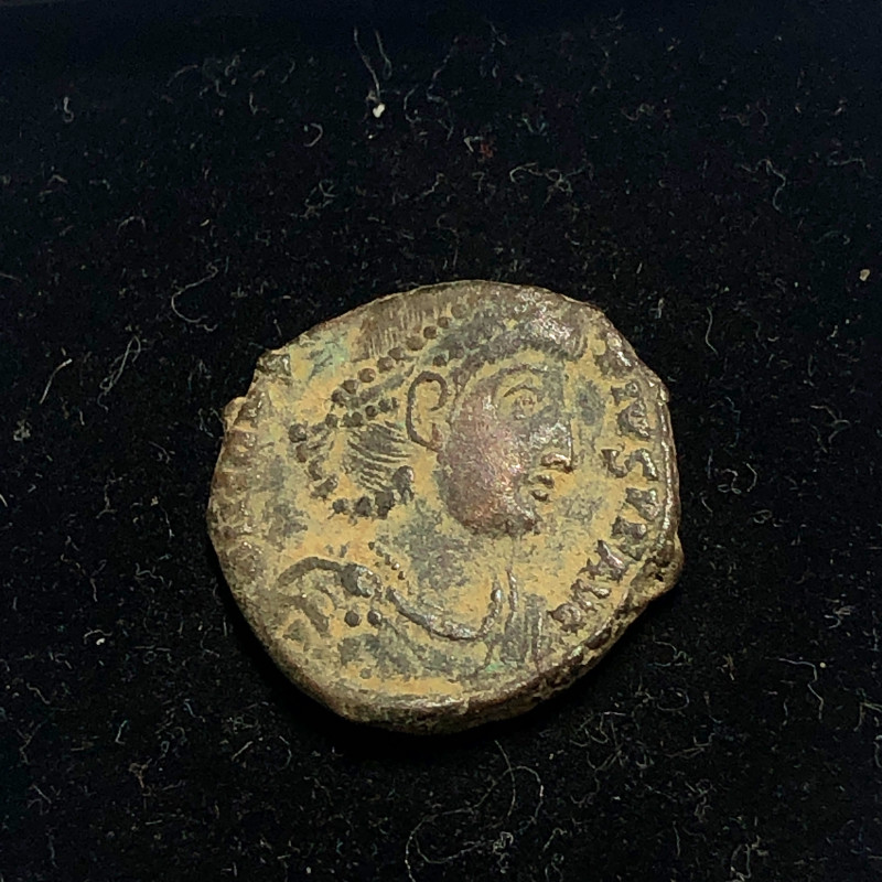 As Found Ancient Roman  bronzeCoin  CP 301