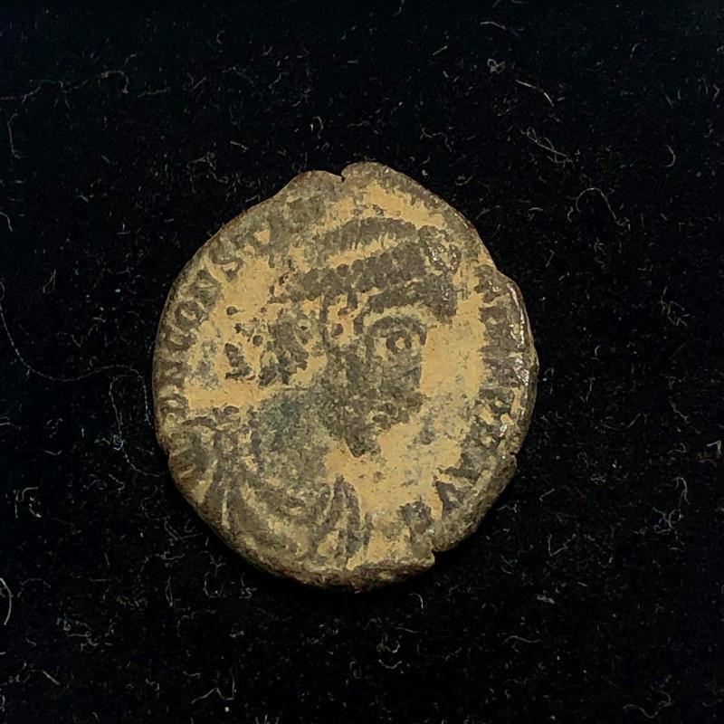 As Found Ancient Roman  bronzeCoin  CP 306