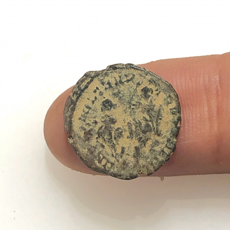 As Found Ancient Roman  bronzeCoin  CP 299