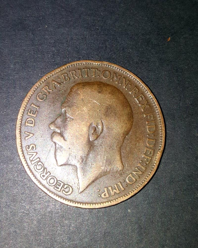 1 Penny - George V 1917.