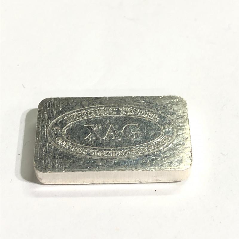 XAG one ounce silver bar 99.9 % silver CP 331