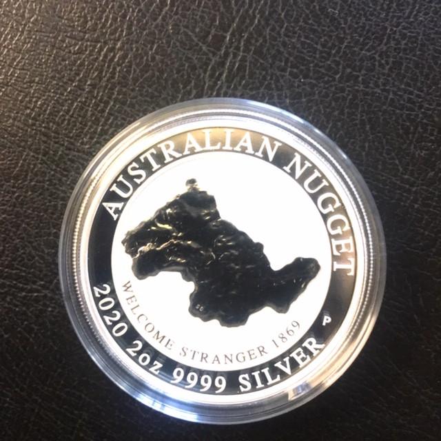Welcome Stranger 2 ounce Silver  99.9% Bullion 2020