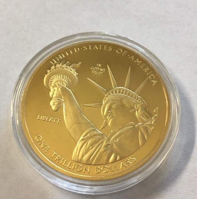 USA One Trillion Collectible Liberty 2013