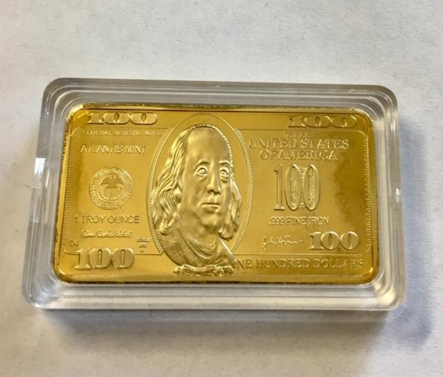 USA One 100 dollar rectangular Collectible