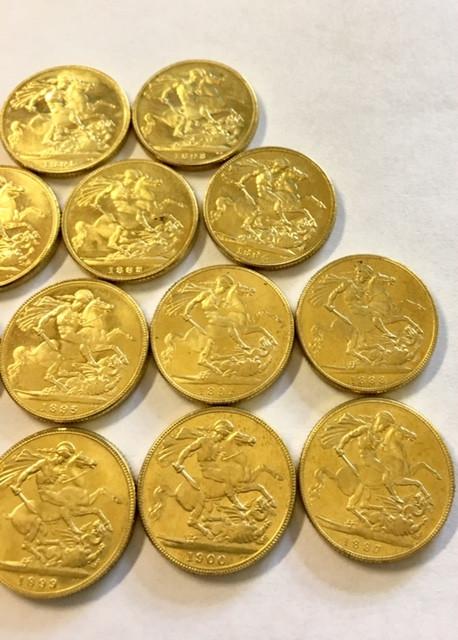 Collectible Queen Victoria Sovereign Gold copy 1778-1900 CP 334