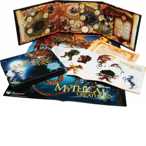 2011 Mythical Creatures Perth Mint  Collection Folder