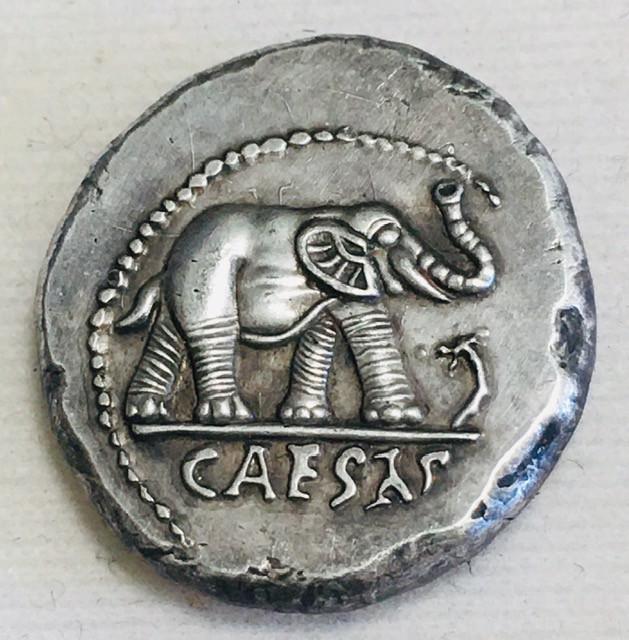 Collectible 3D Ancient Roman Caesar Coin CP 476