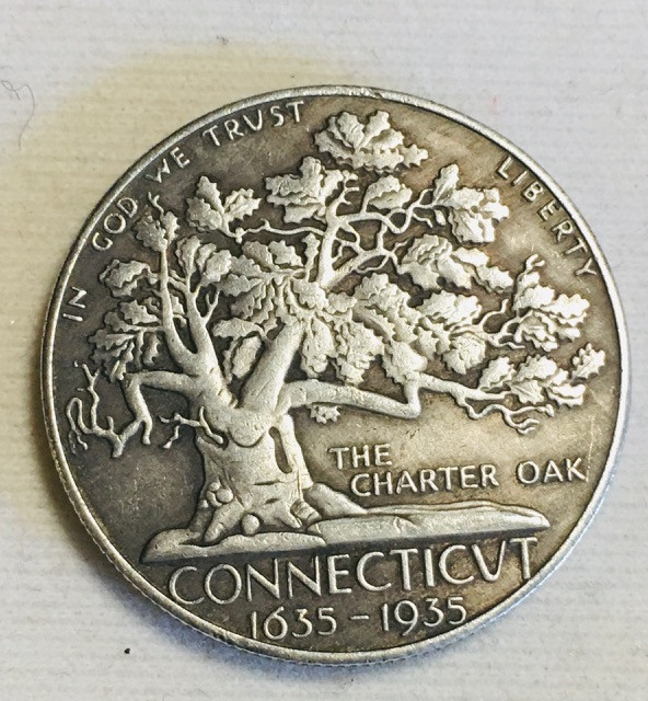 Collectible Hobo The Charter Oak Tree Coin CP 493
