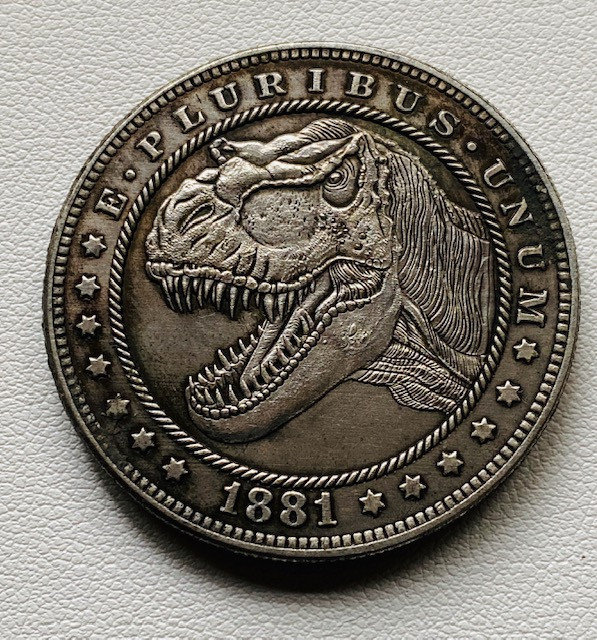 Hobo Dinosaur  Morgan Art Form Design CP 525