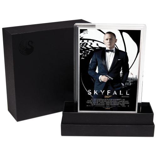 Movie Poster James Bond-Skyfall-5G Silver foil