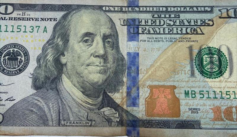 Star Notes 2013 series 100 Dollar Bill MB5115137A