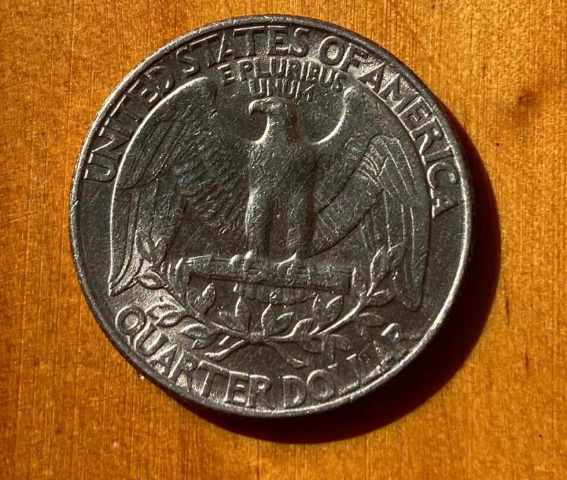 1989 S Washington Quarter Dollar