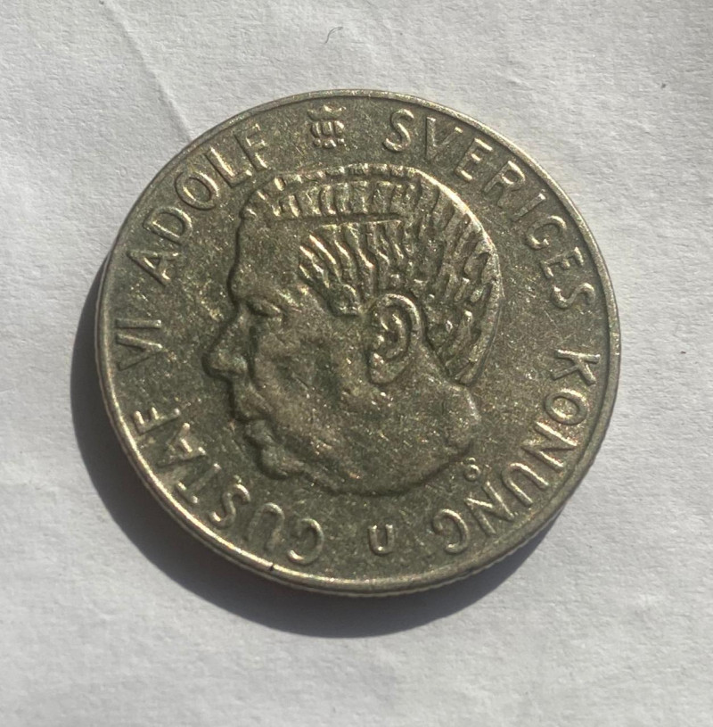 1972  Sweden 1 Krona