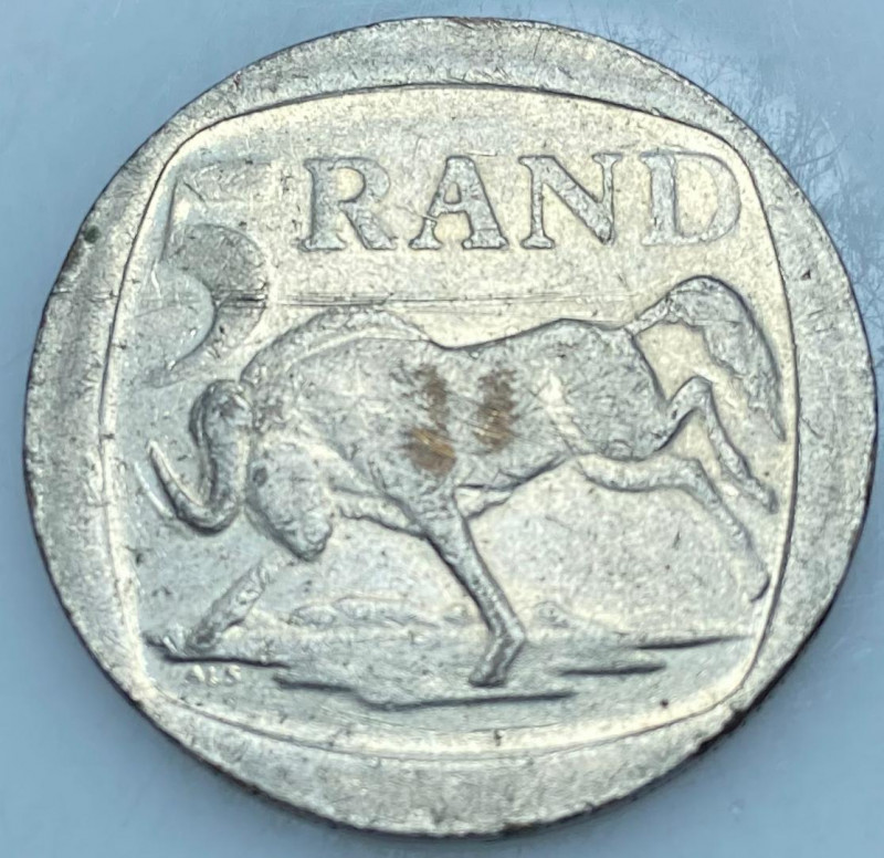 1994 South Africa 5 Rand
