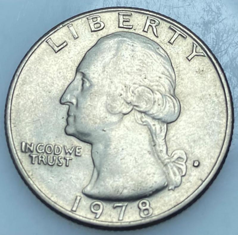 Liberty 1978 Washington Quarter Dollar