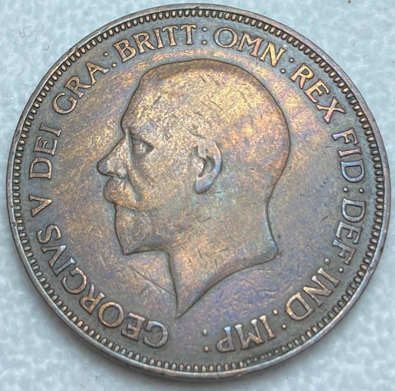 Coin - Penny, Elizabeth II, Great Britain, 1936
