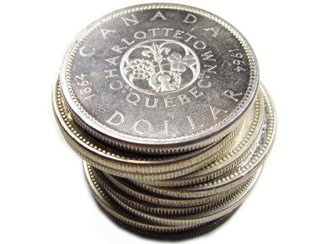 Parcel 10 X 1958 66 Silver 800 Silver Coins Co841