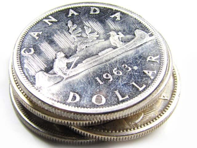 PARCEL 5 X 1960-62-63-66 SILVER .800  SILVER   COINS  CO838