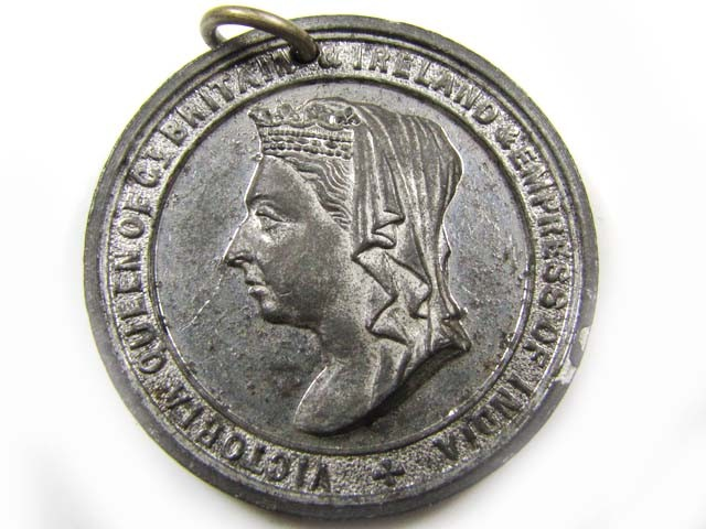 MEDALLION JUBILEE CORONATION 1887  CO 850