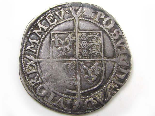 1595-98 6TH ISSUE ELIZABETH 1 SILVER SHILLING   CO860