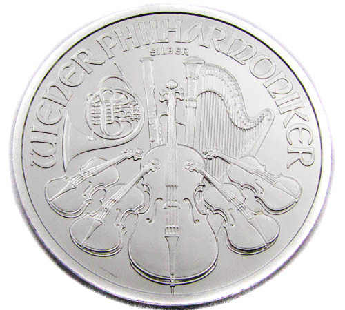 Austrian Vienna Philharmonics Silver one Ounce Coin CO903