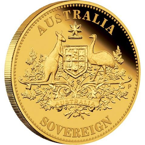 2010 Perth Mint Proof Australian Sovereign