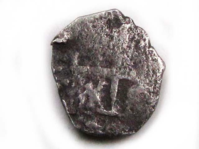 BOLIVIA POTOSI   COB 1/2  REAL 1680-1750  AC 663