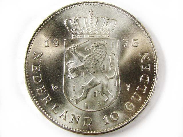 1973  10 GUILDEN  720 SILVER COIN CO 961