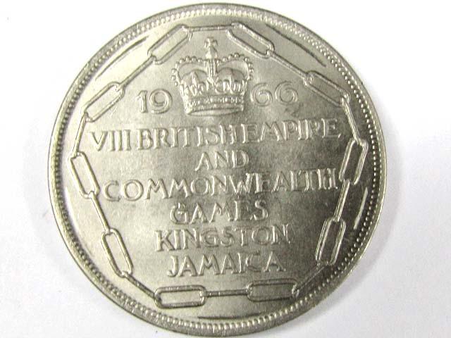 1966 5 SHILINGS JAMACIA  COMMONWEALTH GAMES   T 1512
