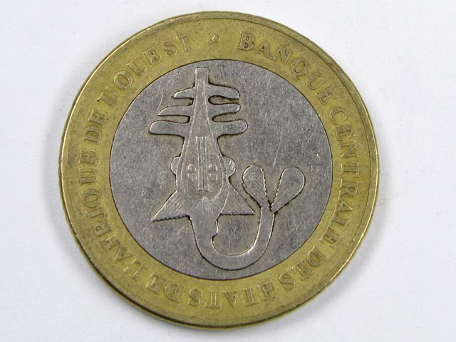 BI METALIC  COINS AFRICAN UNION2003     J 1554