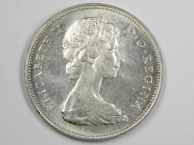 Canadian Silver 1966 Coin Co 1086