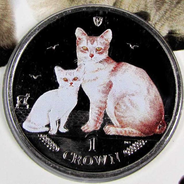 Isle Of Man 2008 Burmilla Cat coin CO 1111