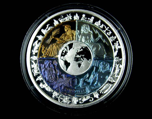 2008 International Year of Planet Earth s Coin FiCO 1166
