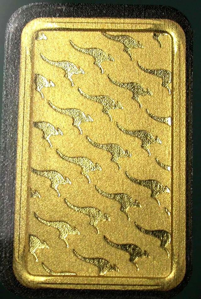 Certified 10 Gram Perth Mint Gold Bar