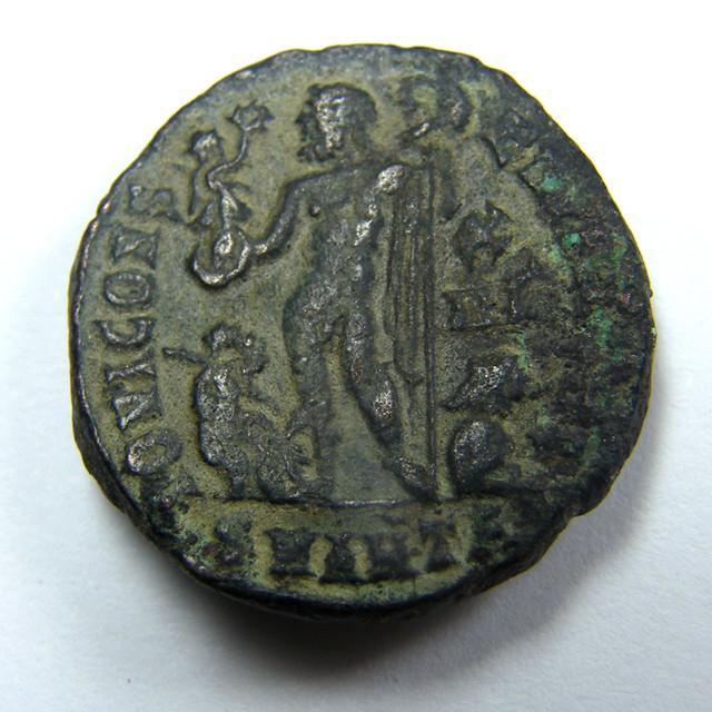 BRONZE ROMAN LICINIUS I, 308-324 AD, FOLLIS , ANTIOC   AC735