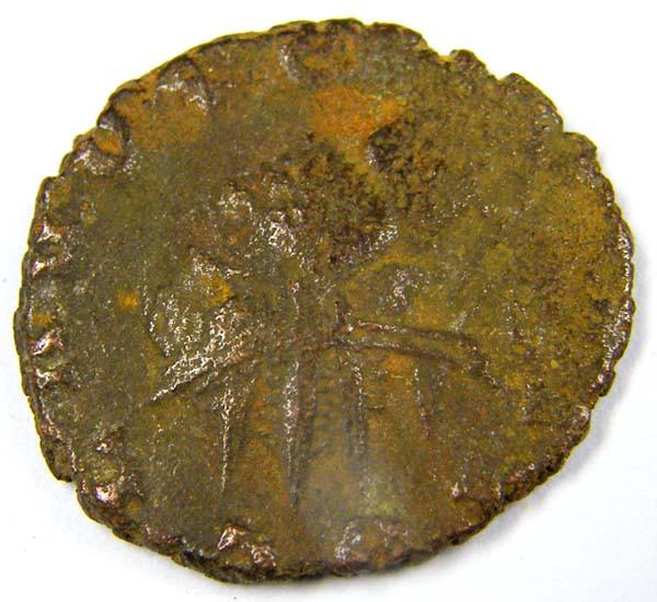270 -280 AD BARBAROUS ANTONIONUS OF CLAUDIUS  COIN    AC756