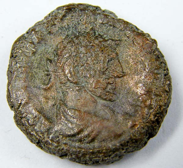 ANCIENT ROMAN COIN FROM EGYPT  AC 762