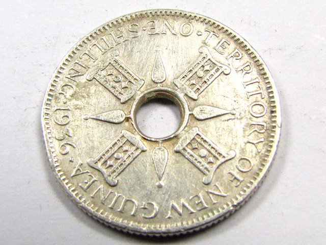 1936 SILVER  SHILLING COIN  J 1931