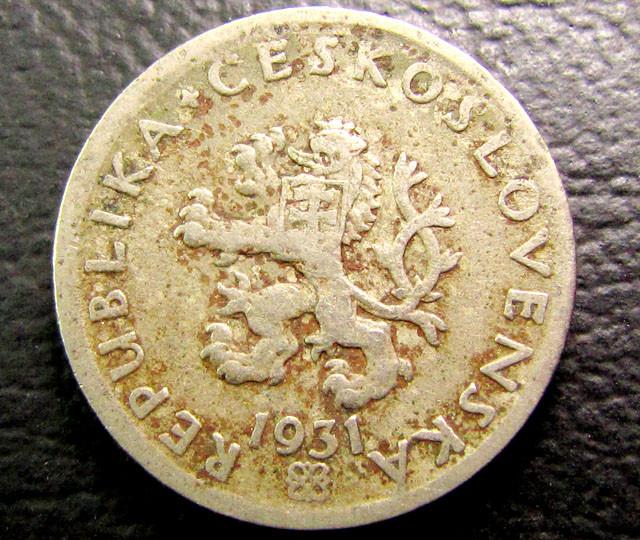 1931 CZECH  COIN  J 1953