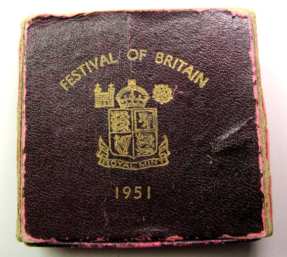 FREE SHIPPING FESTIVAL OF BRITAN 1951  UK COIN    CO 1250