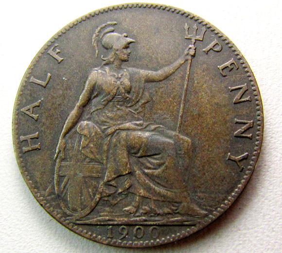 1900 PENNY UK COIN    CO 1259