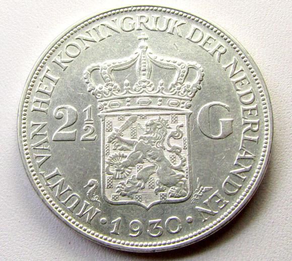 1930 21/2 G .720 SILVER COIN    CO 1268