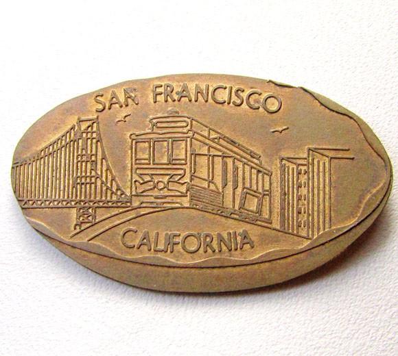SAN FRANCISCO COPER MEDALION    CO 1291