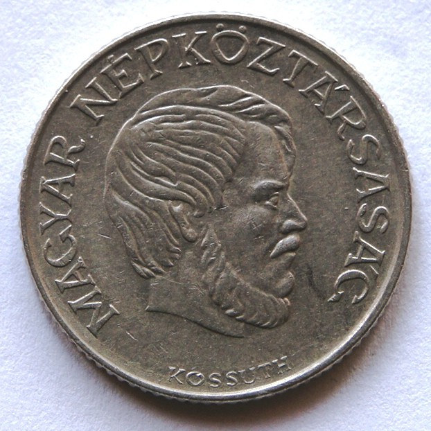 Hungary 5 Forint 1988 Lajos Kossuth; small issue KM#635