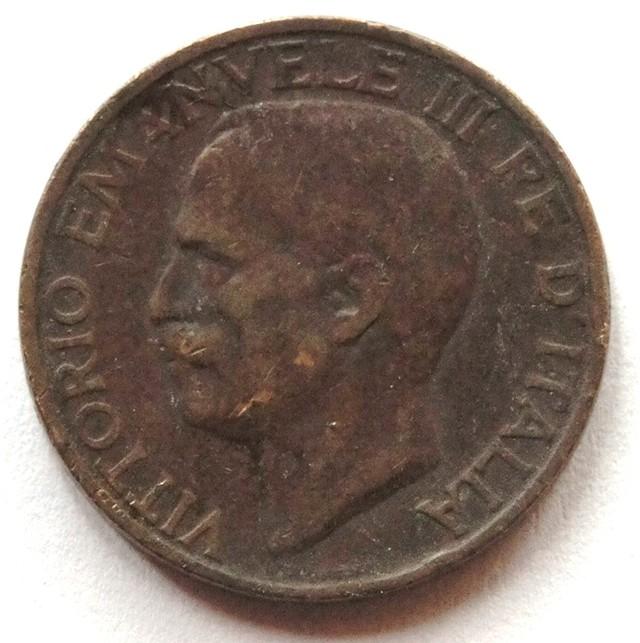 Italy 10 Centesimi-Vittorio Emanuele III: 1923 KM#60