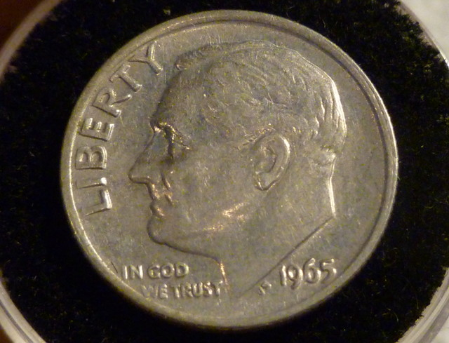 UNITED STATES DIME/1965