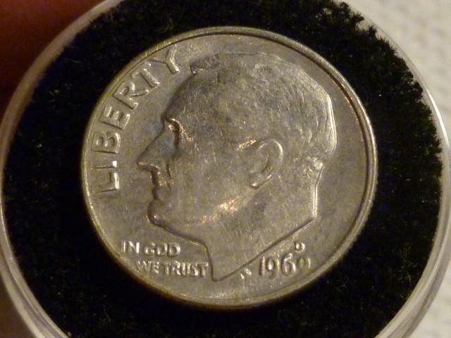 UNITED STATES DIME/1969