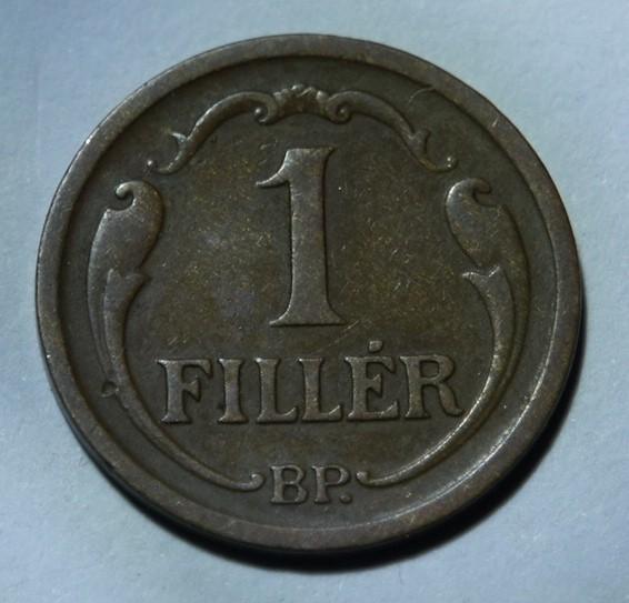 Hungary 1 Fillér 1934 Kingdom of Hungary KM#505