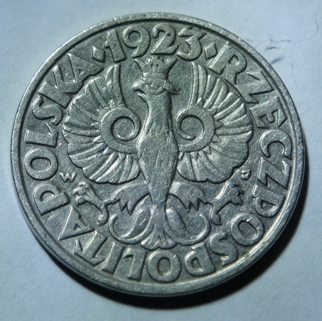 Poland 50 Groszy 1923 Y#13