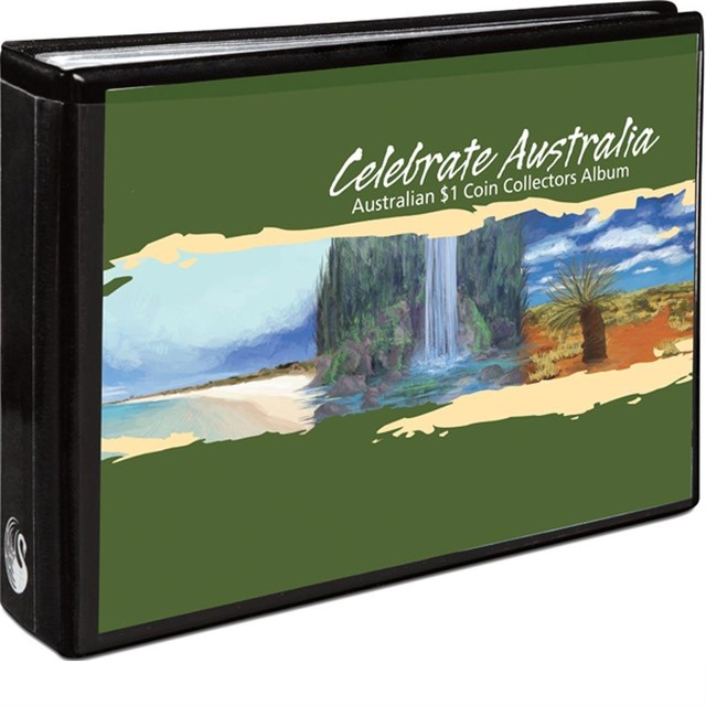 CELEBRATE AUSTRALIA - WORLD HERITAGE SITES 2012 $1 COIN COLL